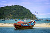 Vietnamese Fishing Boat 10 (rokobilbo) Tags: vietnam river fishingboat fishing sky color tradition
