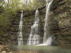 RED03100 (David J. Thomas) Tags: caves caving hiking speleology class students twinfalls camporr jasper waterfall creek stream karst arkansas lyoncollege