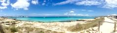 """""""Playa de ensueño de Formentera"""" (atempviatja) Tags: paraíso isla ibiza formentera nubes play cielo azul turquesa color"""
