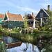 Traditional Dutch Houses in Zaanse Schans