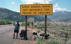 Sonora Junction (dannondale) Tags: bicycletouring california nikonf2a filmphotography 35mmfilm