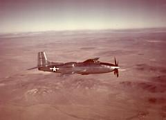 Convair XP-81 (San Diego Air & Space Museum Archives) Tags: aviation aircraft airplane militaryaviation prototype flighttest unitedstatesairforce usairforce usaf consolidatedaircraft consolidatedvultee consolidatedvulteexp81 xp81 convair convairxp81 zxf81 generalelectric generalelectrict31 get31 t31 generalelectrict31ge3 t31ge3 generalelectricj33 j33 j33ge5 gej33
