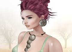 Mila Blauvelt (Mila Blauvelt) Tags: milablauvelt model avatar virtual secondlife shopping exclusive event designershowcaseevent jewellry necklace earrings designer ghee gheethedesignersowcase