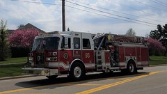 Quint 93 (Central Ohio Emergency Response) Tags: washington township ohio fire division department sutphen truck ladder quint