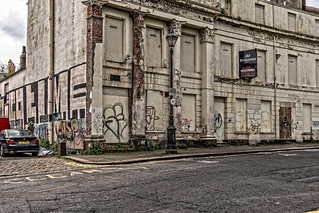 IT IS DEPRESSING TO SEE THAT PART OF THE UPPER CRESCENT IS DERELICT [BELFAST MAY 2018]-139982