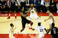 The Dead Live Again in Houston (NewsPie) Tags: the dead live again houston rockets were shirtstickstoyourback hot game 2 behind james harden chris paul complicating golden state's supposedly foregone stroll nba finals basketball may 17 2018 0600am by michael powell from nyt sports httpsnytims2gsywffvia newspie
