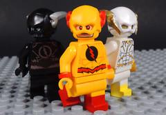 Villainous Speedsters (-Metarix-) Tags: lego minifig dc comics comic villanious speedsters reverse flash zoom godspeed speedforce evil villain custom
