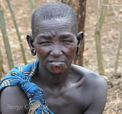 Body Mursi (pguiraud) Tags: mursi ethiopie sergeguiraud jabiruprod valléedelomo omovalley plateaulabial labret plateauenbois ornementscorporels tribus ethnies peuples portrait