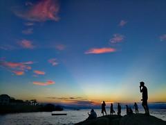 Sunset (MelindaChan ^..^) Tags: zhuhai china 珠海 外伶仃島 chanmelmel mel melinda melindachan sky sunset water sea evening island