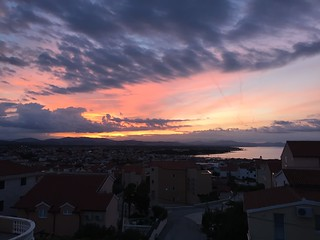 Sunset at Vodice/ Croatia