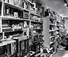 All Books ... (rebfoto ...) Tags: books allbooks rebfoto blackandwhite blancetnoir urbanscape bookstore shelves bookshelves monochrome