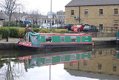 Canal Basin (Halliwell_Michael ## Offline mostlyl ##) Tags: brighouse westyorkshire nikond40x 2018 spring springtime canalbasin calderhebblecanal narrowboats reflection reflections landscapes