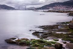 Puente de Rande. Ria de Vigo (kiko_-46-) Tags: paisajescosteros tamaño30x45 paisajes formatooroginal10x15 efectos formatoytamaño largaexposicion vigo pontevedra españa