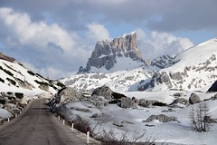 Dolomites (Tomek Sz) Tags: mountains snow cold blue white dolomites