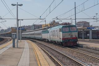 DPR in soccorso all'Intercity: E632+E403