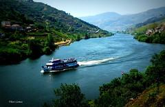 Rio Douro (verridário) Tags: barco arvore água rio paisagem montanha douro vale sony landscape valley river portugal passeio promenade duero paysage water boat