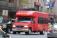 IMG_6786 (GojiMet86) Tags: trans express resort world casino nyc new york city bus buses 2003 ford e350 862 57th street lexington avenue 1fdwe45f13hb79862