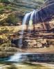 Fallin' (Aakash Gupta Photography) Tags: illinois starvedrock lasalle canyon waterfall water longexposure neutraldensity hiking nature falls solarflare nikon