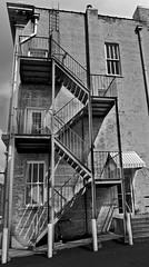 Athens September 2015 (scatman otis) Tags: athens athensga athensgeorgia bw blackandwhite monochrome urban lovelycity stairs