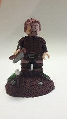 Viking till the death (oskarlechner04) Tags: viking first axe wild savage lego custome minifigure selfmade sword warrior