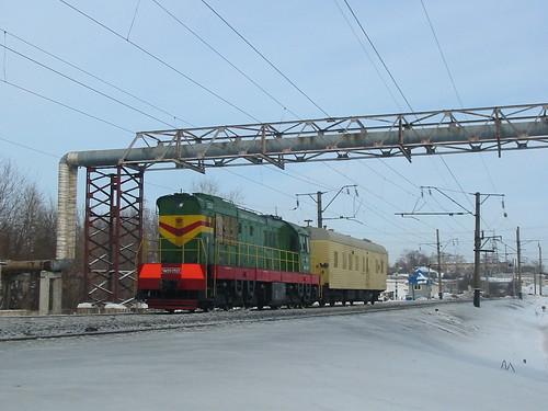 RZD ChME3-2521. Vladimir city, GZD