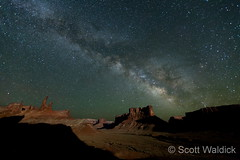 Stunning view of the Milky Way from Canyonlands National Park. (Scott Waldick)