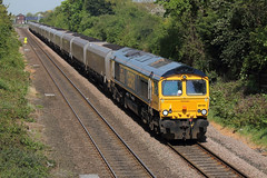 66740-EG-07052018-1 (RailwayScene) Tags: class66 66740 sarah gbrf gbrailfreight eaglescliffe