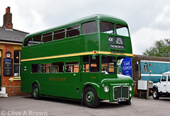 DSC_2523w (Sou'wester) Tags: bus buses publictranspoirt psv london londontransport londoncountry lt lrt tfl lcbs greenline epping ongar railway eor underground tube northweald station essex