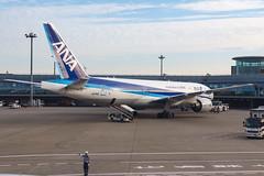 ANA B777-200ER JA741A 0011 (A.S. Kevin N.V.M.M. Chung) Tags: haneda ana boeing hnd aviation aircraft aeroplane airport plane transport spotting apron tokyo b777 b777200er