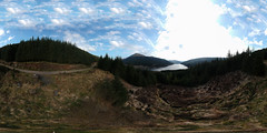Loch Tarsan 360 VR (Click And Pray) Tags: managedbyclickandpraysflickrmanagr equirectangular spark dji drone above scotland argyll horizontal landscape track lochtarsan equirectangularsparkdjidroneabovescotlandargyllhorizontallandscapetracklochtarsangbr