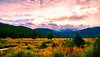 Cabin In The Woods (Brandon Proulx) Tags: nikon d7100 colorado landscape mountains colors sunset skies clouds rocks water lake river stream estes rocky mountain national park trees wide angle sigma 1020 816 10mm 8mm beautiful fort collins reflection distance