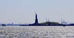 Liberty Island, New York City, USA. (Roly-sisaphus) Tags: nyc thebigapple unitedstatesofamerica