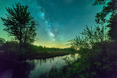 Milky Way in Southwest Michigan (ruifo) Tags: nikon d810 bower 14mm f28 if ed umc ultra wide angle milky way via lacta vía láctea astro astrofotografia astrofotografía astrophotography night noche noite battle creek mi michigan us usa low light long exposure