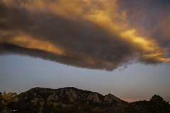 Diaphanous Wave (courtney_meier) Tags: boulder bouldercounty colorado coloradorockies fall flatironformation flatirons landscape rockymountains southernrockies autumn cloud clouds dawn morning morninglight mountains pinkclouds sunrise