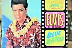 Elvis in Hawaii (thomasgorman1) Tags: elvis music rock rocknroll hawaii record album collectibles junk store antiques cover lp vinyl 1950s nostalgia retro