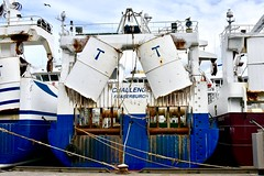 Challenger - Fraserburgh Harbour Scotland - 19/4/2018 (DanoAberdeen) Tags: challenger danoaberdeen 2018 fraserburgh harbour fishermen trawlermen fish salmon scallops haddock cod mackrel trawlers fishingboat shellfish turbot hake scotland scottish northeastscotland scottishhighlands bonnyscotland seafarers berth seaport docks candid amateur nikon thebrooch brooch fraserburghscotland tug boat vessel ship autumn summer winter spring bluesky clouds aberdeen aberdeenshire grampian scottishwater fishinglife shipspotting broch thebroch
