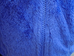 DSC03803 (classroomcamera) Tags: blue zip zips zipping zipper zippers closeup abstract fuzz fuzzy touch touches touching texture textures warm hot cool cold temperature close closed open opened