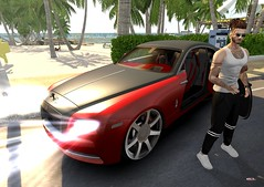 _s o u t h b e a c h_ (https://tobeoutsider.wordpress.com) Tags: secondlife man fashion blog new event fair car redgirl versov legalinsanity baxe optmusrace miami southbeach tobeoutsider tbo fameshed mancave