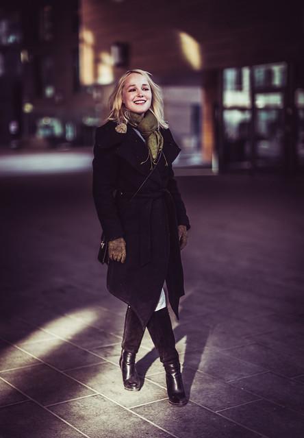 Girl in Oslo