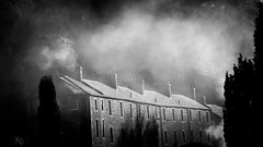 Morning mist, New Lanark. (iancook95) Tags: