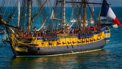 French frigate Hermione (jyleroy) Tags: canon eos700d hermione languedocroussillon méditerranée portvendres pyrénéesorientales bâteaux mer rebel t5i voilier nationalgeographicgroup ngc marine