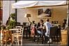 Due chiacchiere al bar della piazzetta (robertar.) Tags: people bar tavoli innamorati