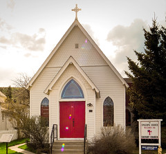 Calvary Episcopal Church Red Lodge Montana (JPrice from Alabama) Tags: church episcopal red