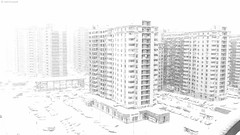 Snowstorm (WestMaue) Tags: building buildings snow winter russia city cityscape cityscapes snowstorm white россия метель снег город
