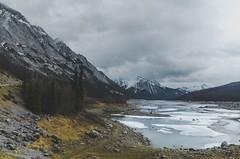 Viewpoint Medicine Lake, Jasper, AB (joseph.wang.jl) Tags: forestfire mountain jasper banff alberta canada medicinelake burning burntwood forest nature nikon lanscape frozen lake blue spring