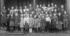 Class photo (theirhistory) Tags: children kids boy girl school class group form teacher jacket dress skirt wellies boots