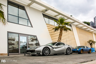 Ferrari F12 TDF & Lamborghini Miura SV