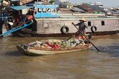 Can Tho Floating Market 6 (diego ilsole.org) Tags: vietnam cantho floatingmarket mercatogalleggiante barca boat mekong