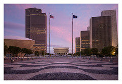 Purple Haze (bprice0715) Tags: canon canoneos5dmarkiii canon5dmarkiii architecture architecturephotography sunset sky clouds colorful colors city cityscape citylights empirestateplaza albanyny albany