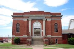 Old Church in Prague Oklahoma (depotdude07) Tags: church worship methodist episcopal pragueoklahoma architecture